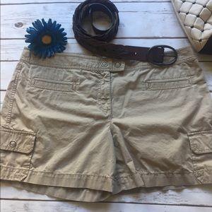 Ann Taylor Loft Khaki Shorts 14